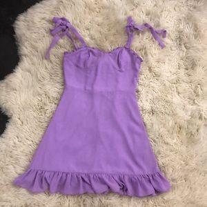 Lavender Sundress w/ Sweetheart Neckline